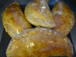 Homemade West Country Pasties